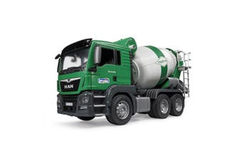Bruder 1:16 53cm Man TGS Construction/Cement Mixer Truck Vehicle Kids Toys 4y+
