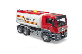 Bruder 50cm 1:16 MAN TGS Petrol/Fuel Tank Truck w/Water Pump Kids Toy 4yr+ Red
