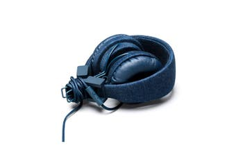 Urbanears Plattan Denim On-ear Headphones/Collapsible w Remote/Mic for MP3/Phone