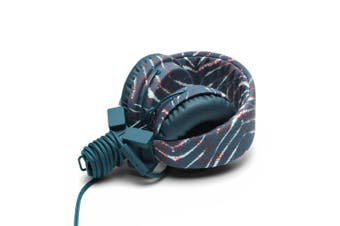 Urbanears Plattan Acid Zebra On-ear Headphones w Remote & Mic for MP3/Phone