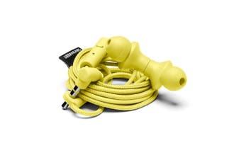 Urbanears Kransen In-Ear Earphones Headset w/Remote Mic for Smartphones Yellow