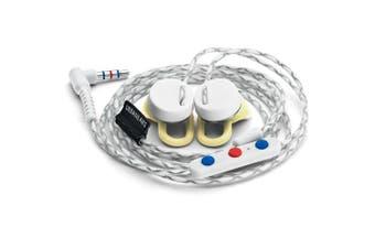 Urbanears Reimers In-Ear Headphones/Earphones w Remote/Mic for Apple Team/White