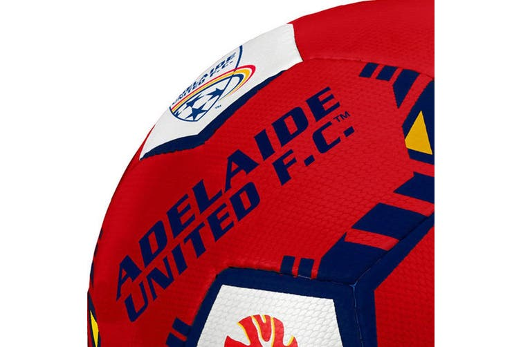 2x Summit Official A-League Adelaide Football Club United Size 5 Soccer Ball