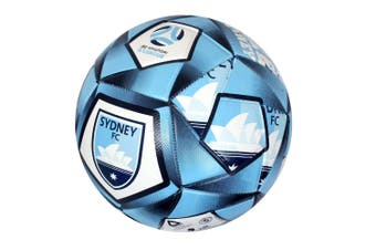 Summit Size 5 A-League Sydney Stitched PVC 30 Panel Soccerball Soccer/Football