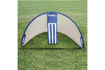Summit Tear Drop Pop-Up/Fold-Away Soccer and Cricket Combo Goal Sports/Team/Game