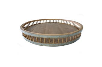 High St Avante 58cm XL Tray Kitchen/Home Decor Bamboo Serving Platter Brown