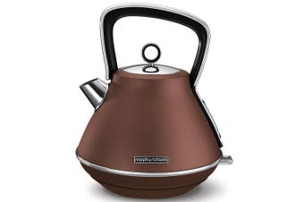 Morphy Richards Evoke 1.5L Pyramid Bronze Stainless Steel Electric Kettle