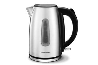 Morphy Richards 102777 Equip 1.7L Brushed Stainless Steel Jug Kettle 2200W