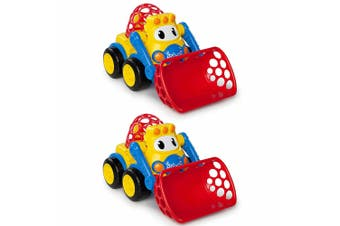2PK Oball Go Grippers Loader Construction Vehicle Tractor Truck Kids/Boys 18m+