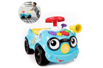 Baby Einstein Road Tripper Push Ride-On Car w/ Sounds/Toy/Kids/Toddler 12m+