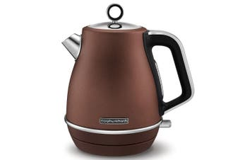 Morphy Richards 2200W Evoke 1.5L Jug Bronze Stainless Steel Electric Kettle