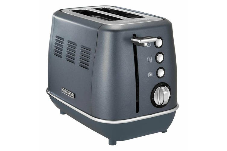 Morphy Richards Evoke Stainless Steel 2 Slice Toaster & 1.5L Jug Kettle Blue