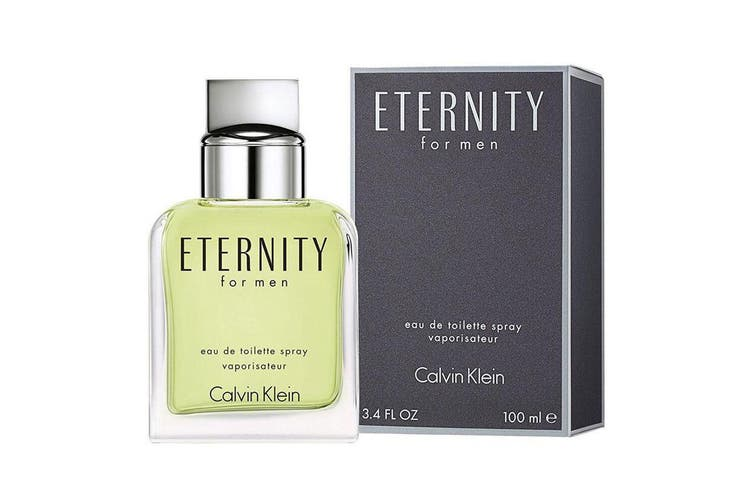 Calvin Klein 100ml Eternity EDT Eau De Toilette Men Fragrances/Natural Spray