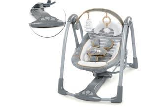 Ingenuity Swing Go Portable Baby/Newborn/Infant Seat/Rocker/Rocking Chair Seat