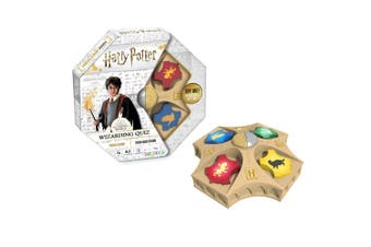 Harry Potter Wizarding Quiz Kids/Children Trivia Game Play Toy 2-4 Players 8y+