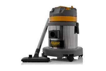 Pullman CB15 1000W 15L Wet/Dry Stainless Ste Commercial Canister Vacuum Cleaner