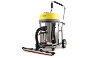 Pullman 60L 2300W Wet/Dry Commercial Vacuum Cleaner w/ Outrigger f/ Carpet/Tiles