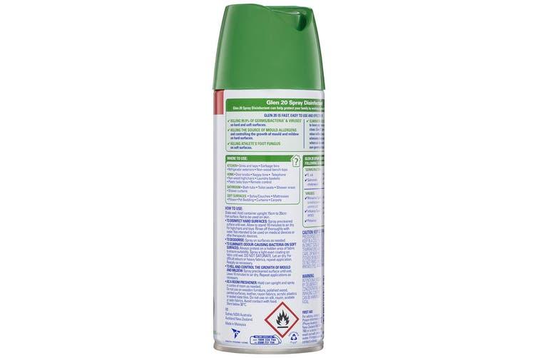 9PK Glen 20 Disinfectant Spray 300g Kills 99.9% of Virus/Germs Lavender