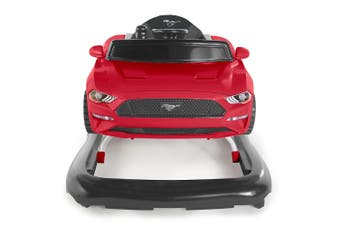Bright Starts Ford Mustang 3-in-1 Baby/Toddler Walker Toys/Car Push 6-12m Red