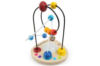 Baby Einstein Colour/Color Mixer Wooden Bead Maze Music/Educational Toy Kids 12m