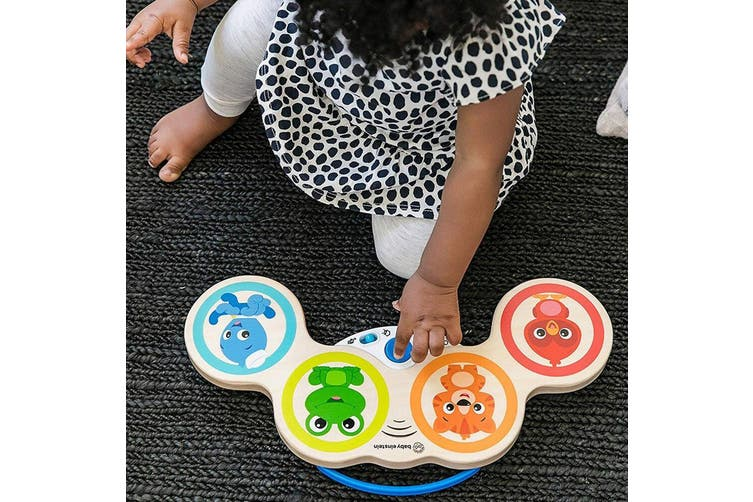 Hape Baby Einstein Baby Magic Touch Drums Musical/Educational Toy Kids/Baby 6m+