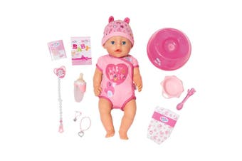 Baby Born 43cm Soft Touch Girl Interactive Doll Kids/Toddler/Children Girls Toy