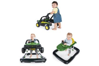 John Deere Gator 3 Ways To Play/Activity Walker Baby/Toddler/Kids Unisex 6m+