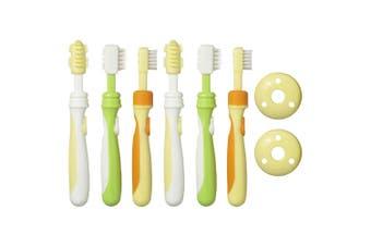 2PK Pigeon Baby Training Toothbrush Brush Teeth Dental Oral Care Baby/Infant/Kid