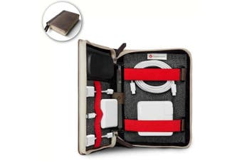 Twelve South Book Book Caddy Sack Travel Tote Case for Cables/Adapters/Chargers