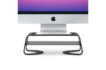 "TwelveSouth Curve Riser 10"" Wide Base Monitor Stand/Elevator for iMac/Monitors"