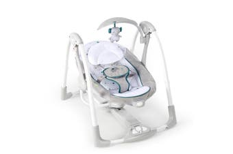 Ingenuity ConvertMe Swing 2 Seat Baby/Infant Rocker/Rocking Chair Seat Grey 0m+