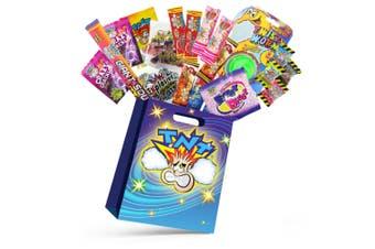 20pc TNT Ka-Bluey Kids Lollies Showbag w/ Sour Cola/Rainbow/Strawberry Chew Bars