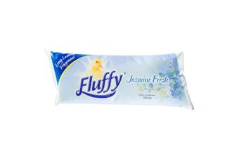250ml Concentrated Fluffy Jasmine Fresh Fabric Softener Pouch Laundry - Makes 2L