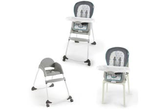 Ingenuity Trio 3-In-1 High Chair/Baby Booster Seat/Toddler Classic Chair Nash