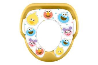 Sesame Street Soft Padded Toilet Training/Potty Seat f/Toddler/Kid/Child 2y+