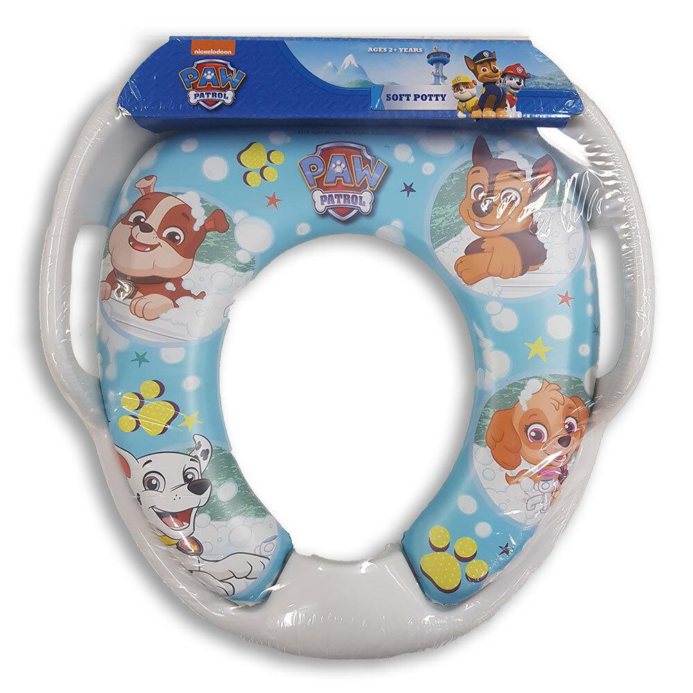 Kids Potty Seat Soft Padded Baby Toilet Cover Training with Handles **LEAVE...