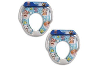 2PK Paw Patrol Soft Padded Potty Seat for Toilet Training Toddler/Kids 2y+ Blue