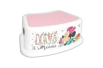 Disney Junior Minnie Mouse Step/Foot Stool Children/Toddler/Kids Chair Portable