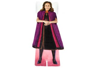 Disney Frozen 2 Anna's Adventure Outfit Blankie Tails Fleece Kids Blanket 3y+
