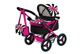 Bayer Cosatto Trendy 68cm Pram/Stroller w/ Bag for 46cm Dolls Kids Toy 3y+ Cabi
