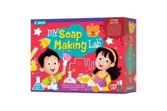 Explore My Soap Making Lab Kids DIY STEM Science Educational Activity Toy 6y+