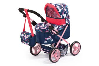 Cosatto Wish 68cm Doll Pram/Stroller Magic Unicorn Pretend/Role Play Kids/Toy