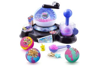 So Bomb DIY Bath Bomb Factory Kids/Children 6y+ Bathroom Fizzy Bombs Kit Toy