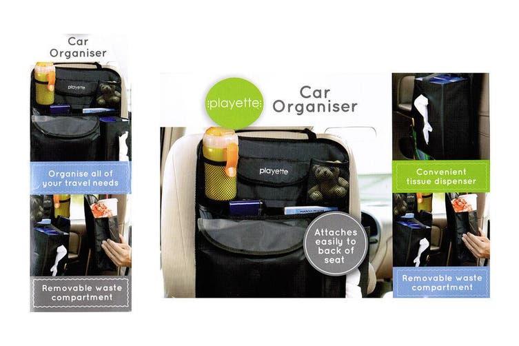 Back Car Travel Seat Organiser Baby kids toddler Caddy/toy/book/bottle holder