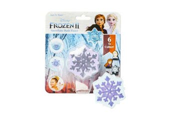 Dreamworks Frozen II Snowflake Bath Bomb Fizzer Kids/Child 5y+ Bathbombs Assort.