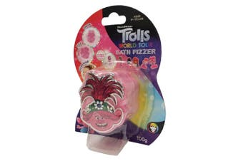 Dreamworks Trolls World Tour 100g Bath Fizzer Bombs Kids 5y+ Bathbombs Assorted