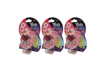 3x Dreamworks Trolls World Tour 100g Bath Fizzer Bombs Kids 5y+ Bathbomb Assort.