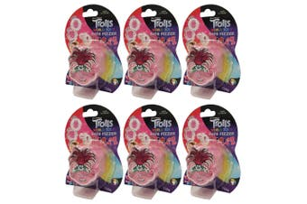 6x Dreamworks Trolls World Tour 100g Bath Fizzer Bombs Kids 5y+ Bathbomb Assort.