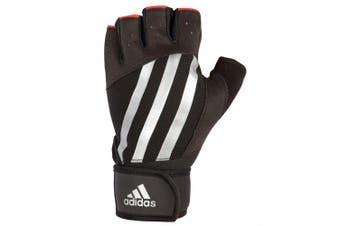 Adidas Elite Weight/Strength Unisex M Training Grip Gloves Gym/Sports Stripe