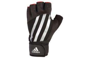 Adidas Elite Weight/Strength Unisex L Training Grip Gloves Gym/Sports Stripe
